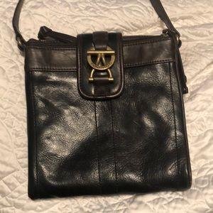 Leather Tignanello crossbody
